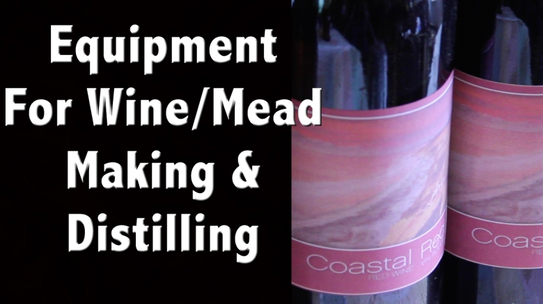 Wine equipment Website