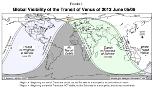 Where Can You See the Transit of Venus?