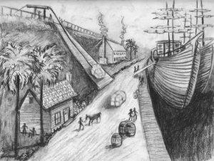 Chapter 5 - Savannah - River Street docks 1737